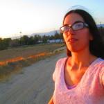 Selfie In A Field